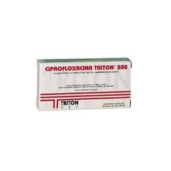CIPROFLOXACINA 200 X 16 COMP
