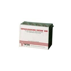 CIPROFLOXACINA 200 X 80 COMP