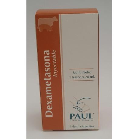 DEXAMETASONA 20 MG. X 20 ML  PAUL