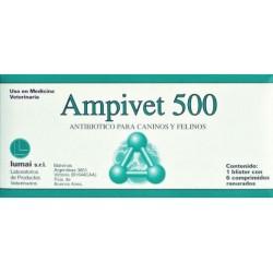 AMPIVET 500 X 6 COMP