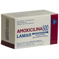 AMOXICILINA 500 MG X 100 COMP.