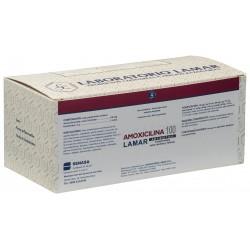 AMOXICILINA 100 MG X 500 COMP