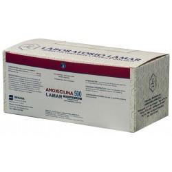 AMOXICILINA 500 MG X 500 COMP
