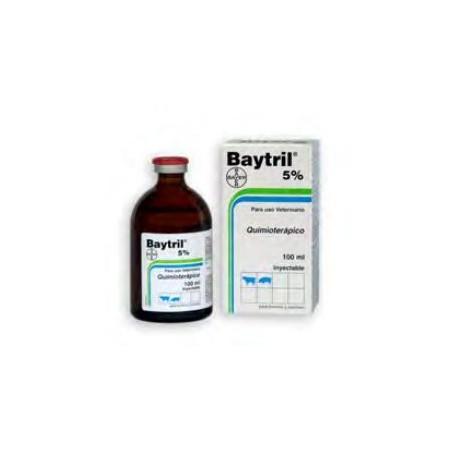 BAYTRIL 5% INY X  20 ML