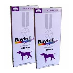 BAYTRIL SAB.150 MG X 10 COMP