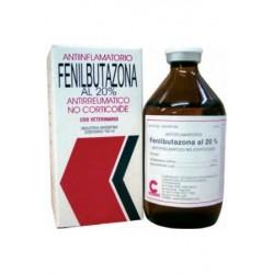 FENILBUTAZONA AL 20% INY X 100 CC