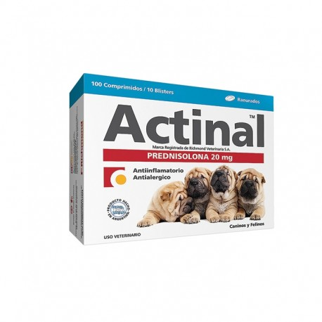 ACTINAL (PRED 20MG) X 200 COMP