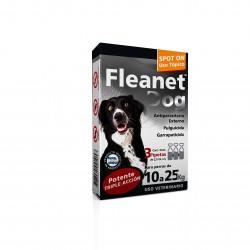 FLEANET DOG 10 A 25 KG X 3 PIP