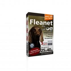 FLEANET DOG 25 A 40 KG X 3 PIP