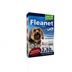FLEANET DOG 2 A 10 KG X 3 PIP