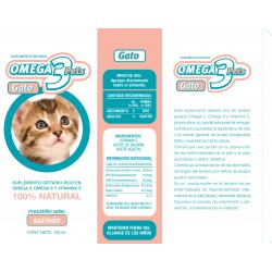 OMEGA 3 PETS GATO X 125 ML
