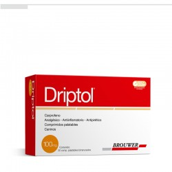 DRIPTOL  100 MG X 20 COMP. PALATABLES