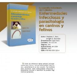 ENFERMEDADES INFECCIOSAS Y PARASITOLOGÍA EN CANINOS Y FELINOS EN 5 MINUTOS