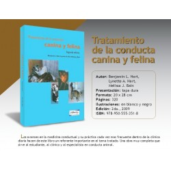 TRATAMIENTO DE LA CONDUCTA CANINA Y FELINA
