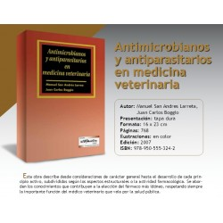 ANTIMICROBIANOS Y ANTIPARASITARIOS EN MEDICINA VETERINARIA