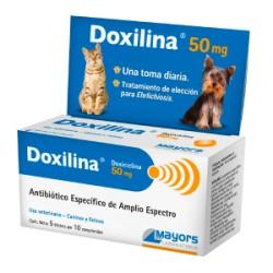 DOXILINA 50 MG 5 BL X 10 COMP
