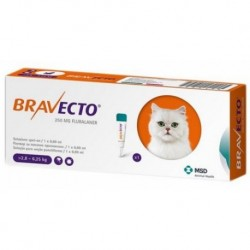 BRAVECTO GATO SPOT ON MED. 2.9-6.25