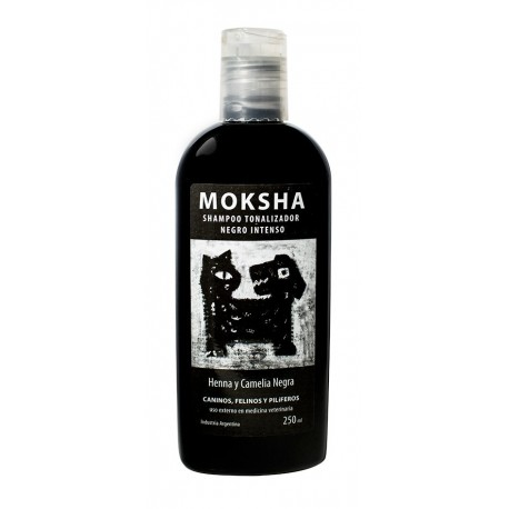 SH NEGRO INTENSO X 250 ML MOKSHA