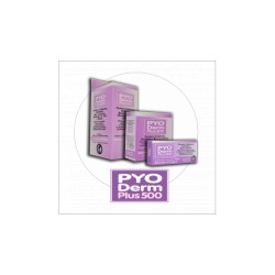 PYO DERM PLUS  500 X  10 COMP
