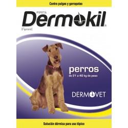 DERMOKIL PIPETA FIPRONIL P.20-40 KG