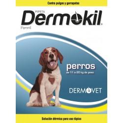 DERMOKIL PIPETA FIPRONIL P.10-20 KG