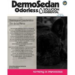 DERMO ODORLESS SOL.AMB.X 250 C/BOM.SPRAY
