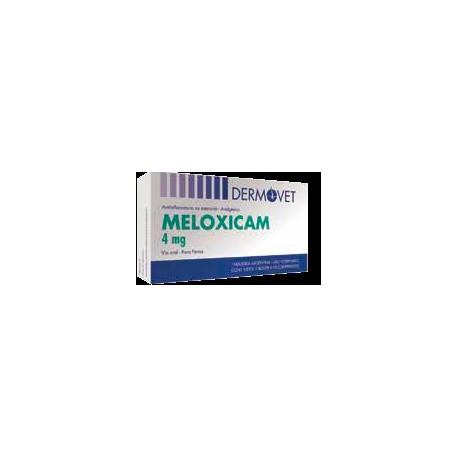 MELOXICAM  DERMOVET 4 MG X 10 COMP